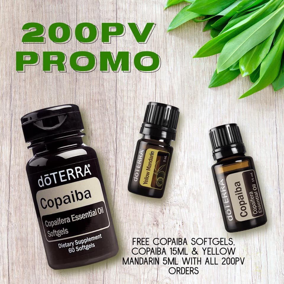 FREE with any 200pv order in October!