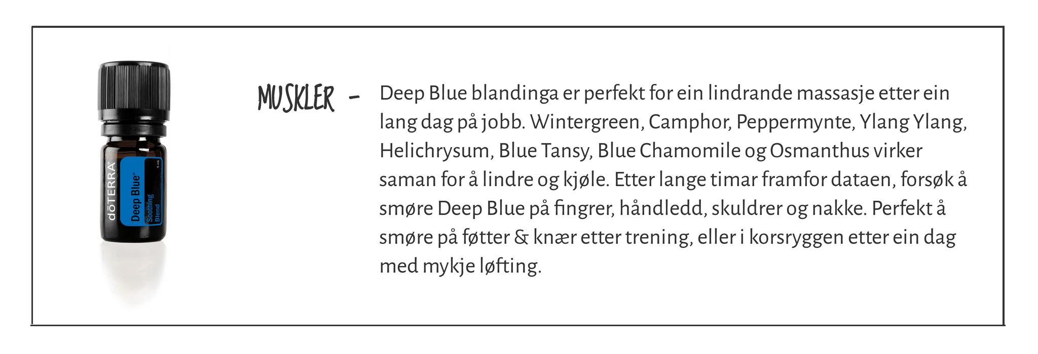 DeepBlue - lp.faktaboks