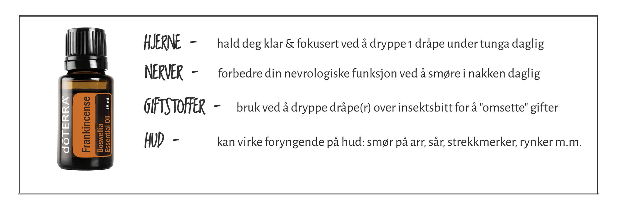 Frankincense - lp.faktaboks